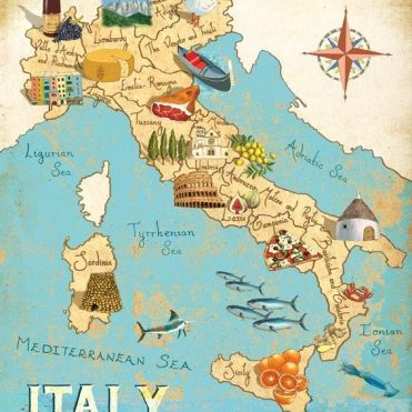 Italy in pictures - for hundreds of years a journey to Italy was considered an essential part of a young person's education