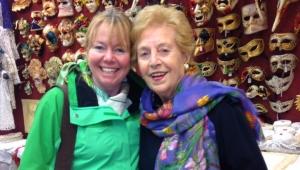 Burano - Signora Olga and Janet in Merletti dalla Olga