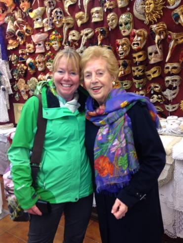 Signora Olga and Janet