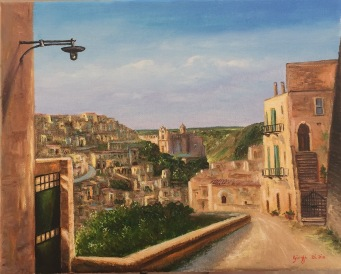 Matera - magical city built in the hillside