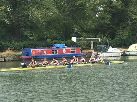 An Eight on the river, Oxford