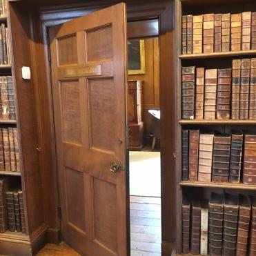 Christ Church Library - side door