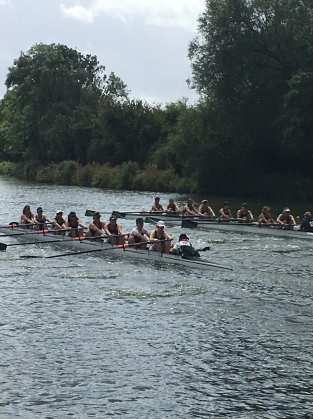 Eight on the river