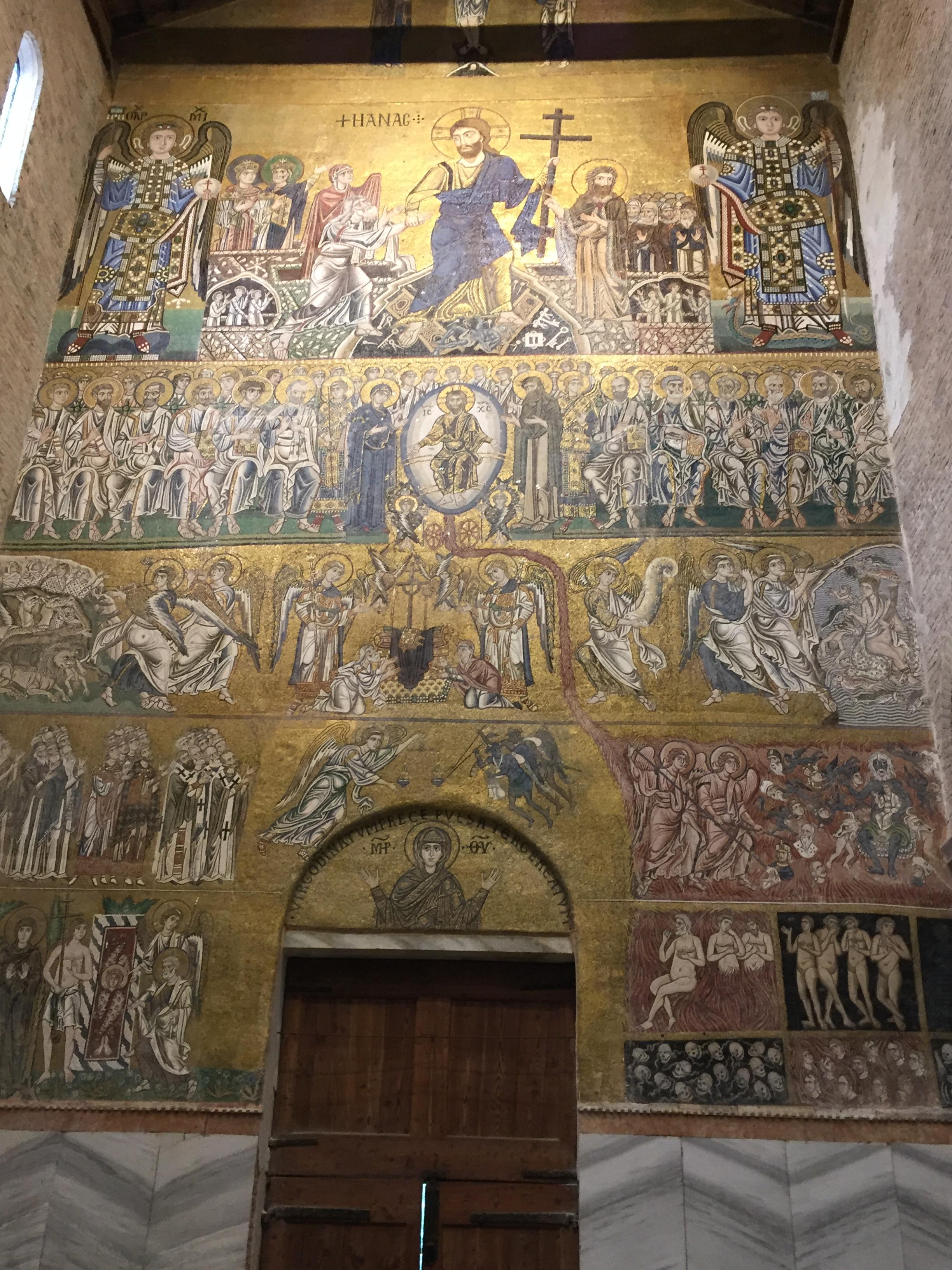 Torcello - Basilica of Santa Maria Assunta - Last Judgement Mosaic