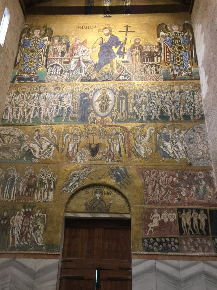 Torcello - Basilica of Santa Maria Assunta - Last Judgement Mosaic