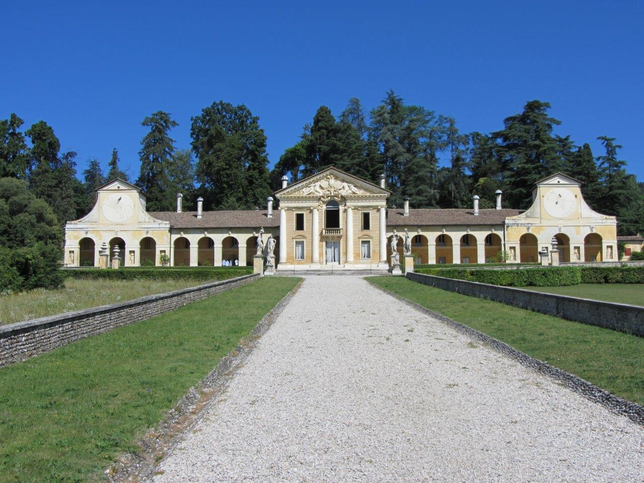 Villa Barbaro, Maser - front facade demonstrating perfect Palladian symmetry