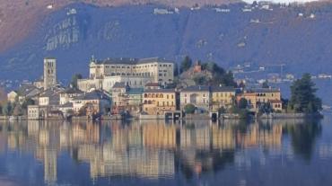 Reflections on Lake Orta