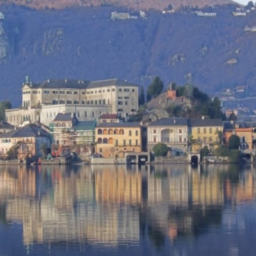 Reflections on Lake Orta