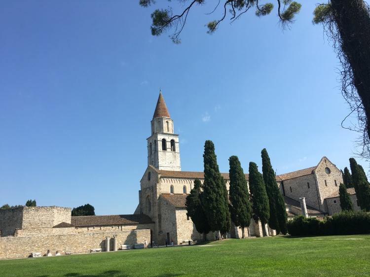 Aquileia - basilica with exceptional Roman mosaics