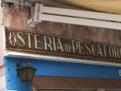 Osteria tradizionale a Burano