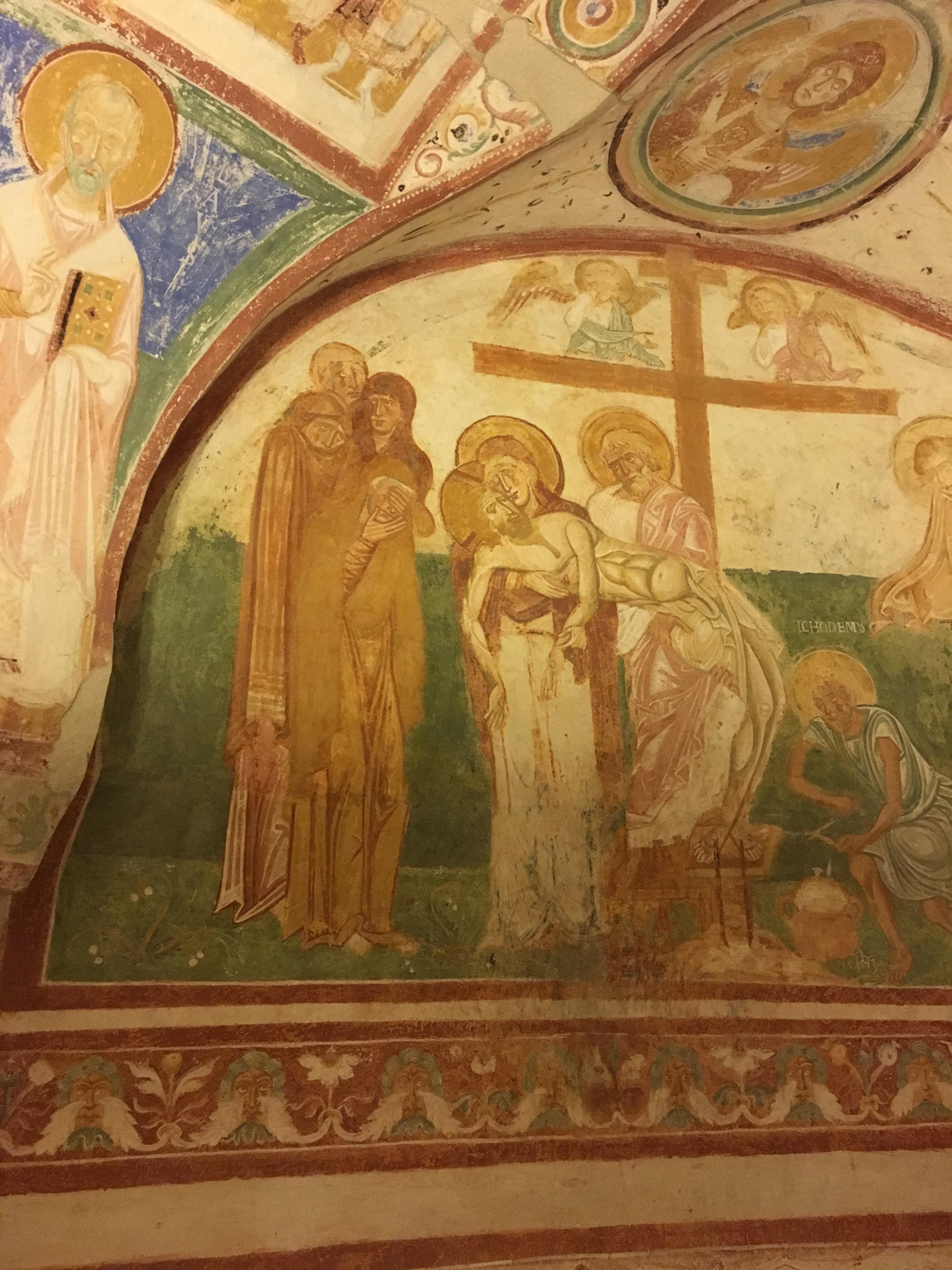 Aquileia Humanistic Frescoes - Crypt 13th Century