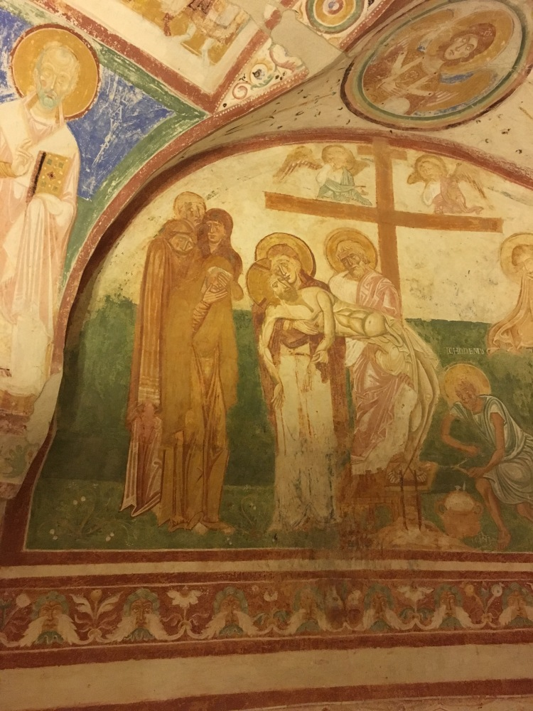 Aquileia Humanistic Frescoes - Crypt 13th Century