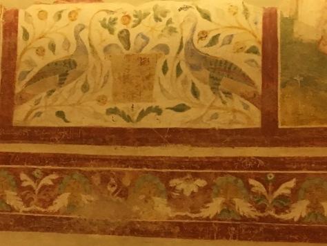 Crypt Frescoes - 11th century