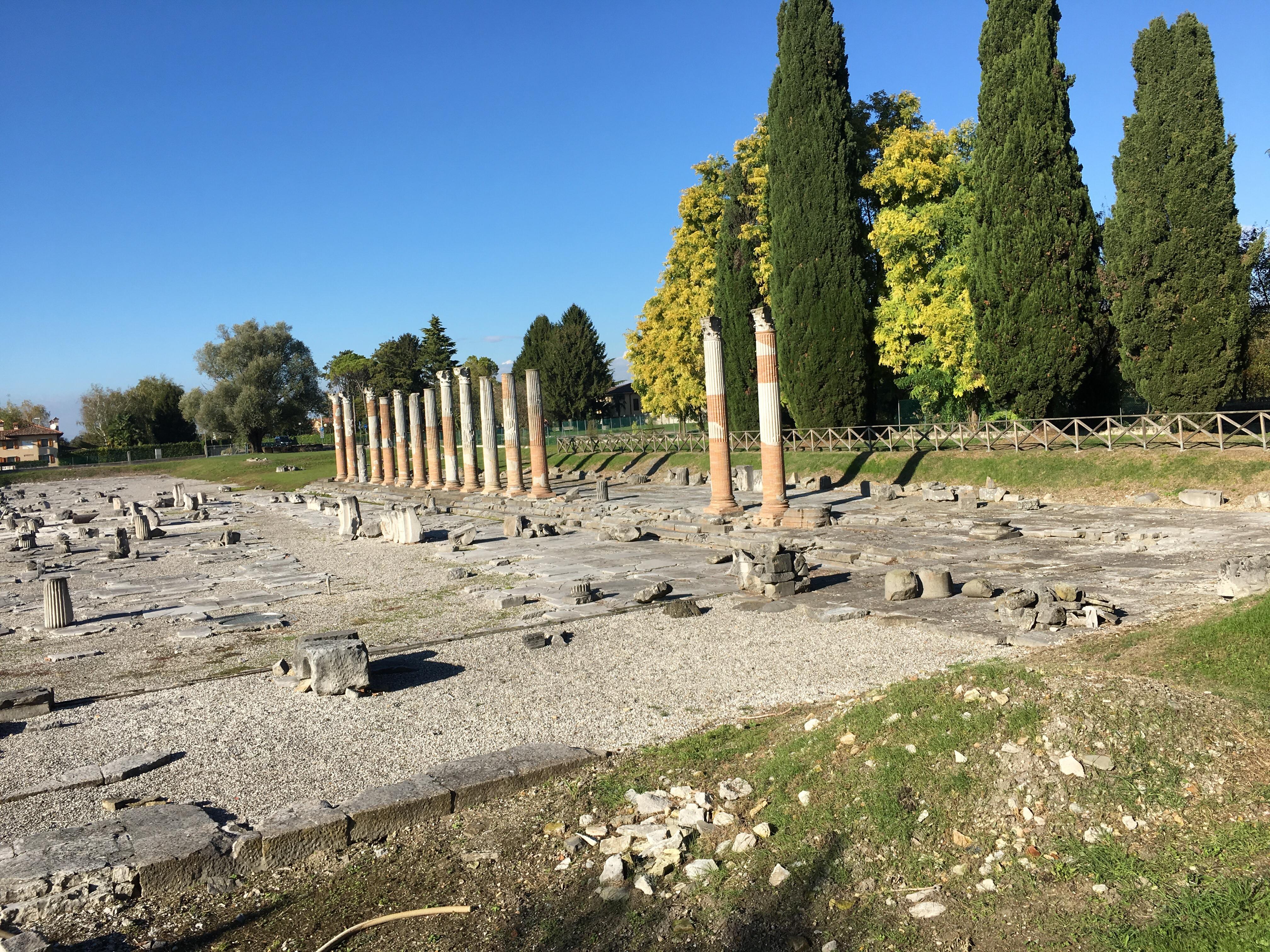 The Roman Forum at Aquileia