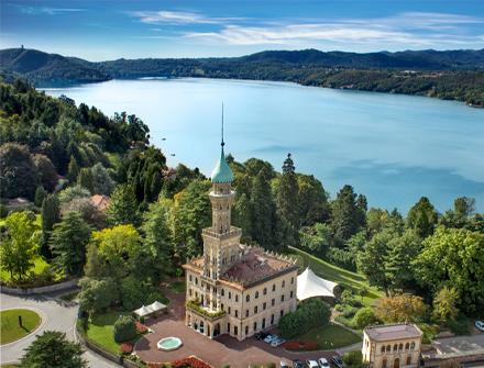 Villa Crespi - Lago di Orta, Fabulous gastronomic restaurant and hotel