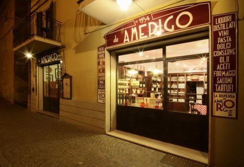 Amerigo Ristorante - Savigno specialises in dishes including locally sourced tartufi (truffles)