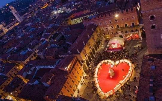 Verona - spectacular 'Verona in Love' festival