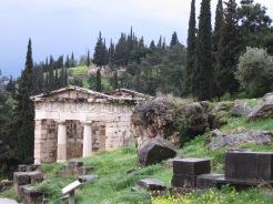 Delphi - temple