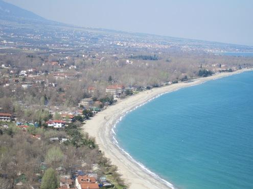Greece - north of Volos, coastline