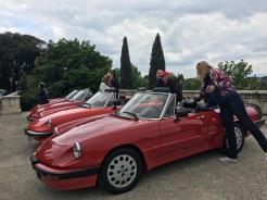 Villa San Michele, `florence - Alfa Romeo's await us!