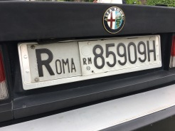 Alfa Romeo cars were all from Rome...
