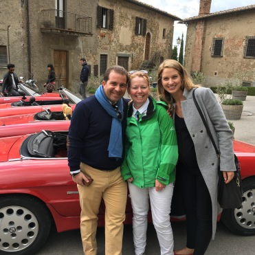 My wonderful hosts, Anna Bink and Giuglio of Belmond Hotels