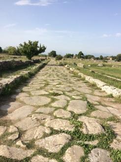 Paestum - Roman Road