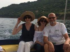 Boat trip off Cilento coast