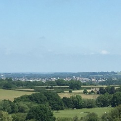 Looking north from Boars Hill towards Oxford
