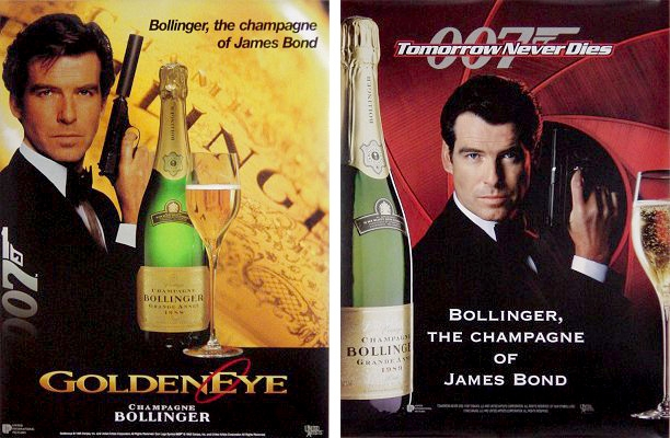 Bollinger and James Bond