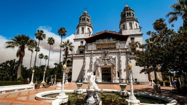 Hearst Castle, San Simeon - the house