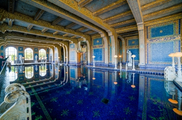 Hearst Castle - magnificent interior pool