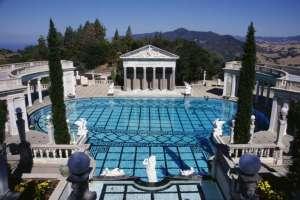 Hearst Castle, San Simeon - the classical Greek outdoor pool