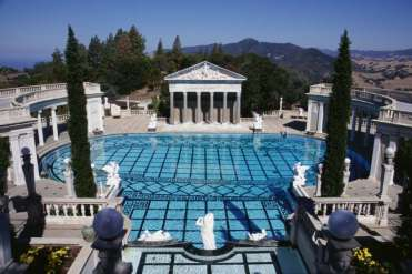 Hearst Castle, San Simeon - the classical Greek outdoor pool