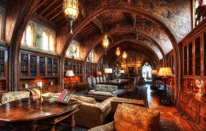 Hearst Castle - Gothic Study