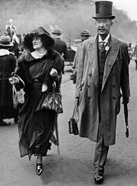 Fifth Lord Carnarvon and Lady Carnarvon