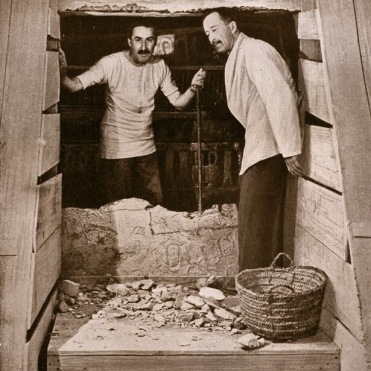 Lord Carnarvon and Howard Carter, 1922