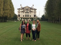 Villa Malcontenta with lovely ladies - Libby, Tracey, Tracey and Janet - September 2017