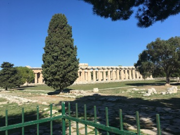Paestum, Greek Temple of Hera, the most southerly temple