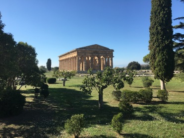 Temple of Nettuno at Paestum