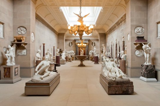 Chatsworth House, Derbyshire - sculpture gallery