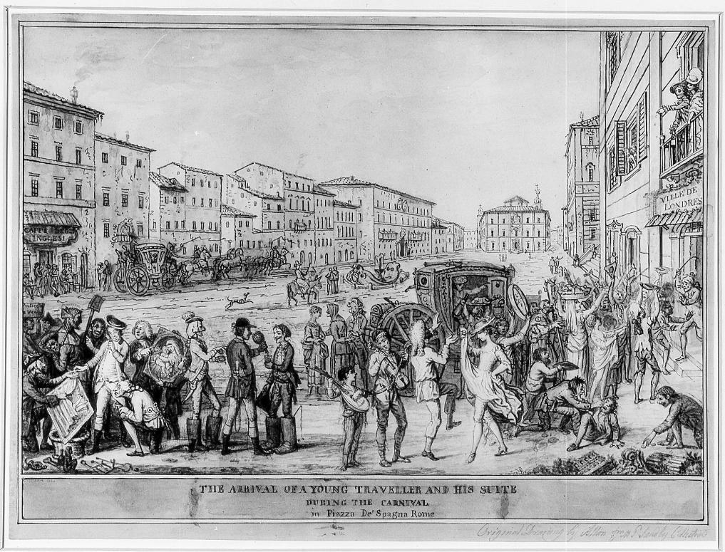 GT - David Allen, Piazza di Spagna - 1775