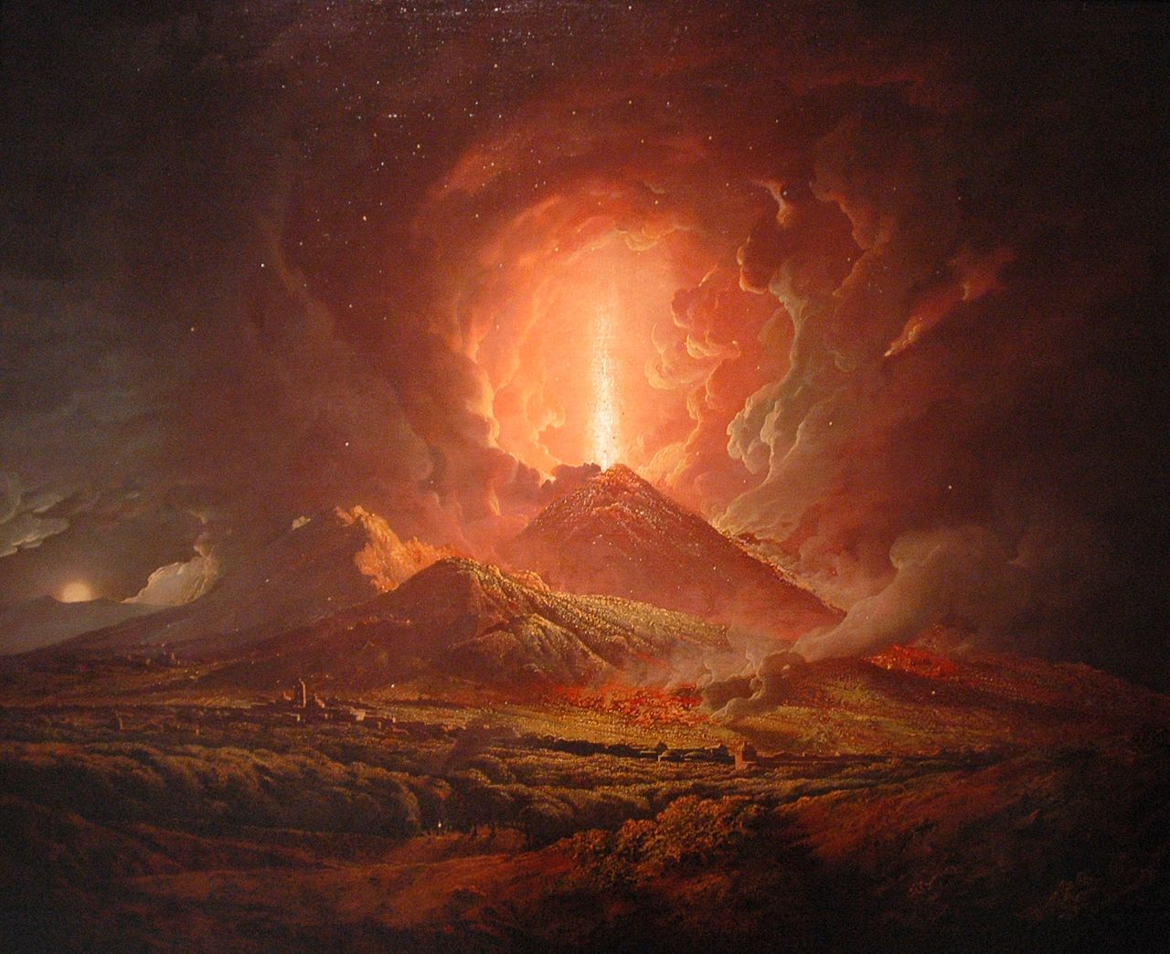 Joseph_Wright_of_Derby_-_Vesuvius_from_Portici 1774-6