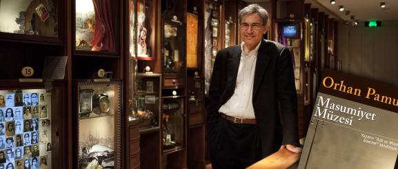 Orhan Pamuk - author at The Museum of Innocence, Istanbul