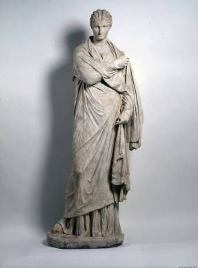Plaster Cast of one of the 'Women of Herculaneum' - the originals are in Dresden, Germany