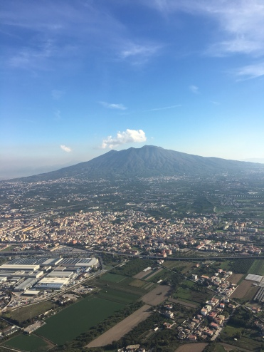 Vesuvius dominates the whole Bay of Naples