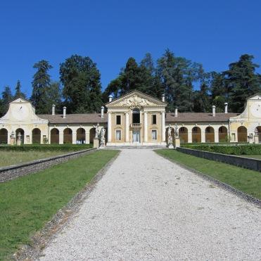 Villa Barbaro, Palladian Villa at Maser, near Asolo, Veneto