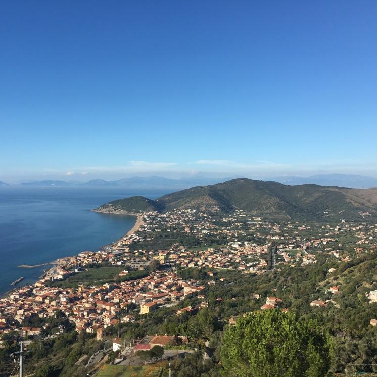 Campania - coastline