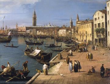 Canaletto - Riva degli Schiavoni c.Trustees of the John Soane Museum
