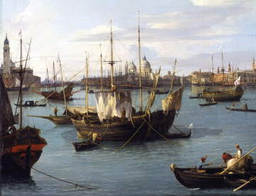 Canaletto - Bacino San Marco c. 1735 - c. Trustees of Sir John Soane Museum